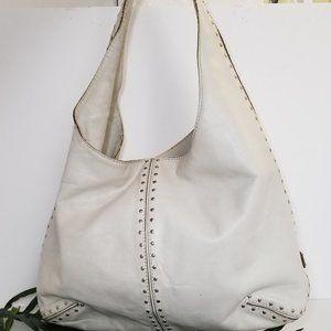 Michael Kors studded hobo bag
